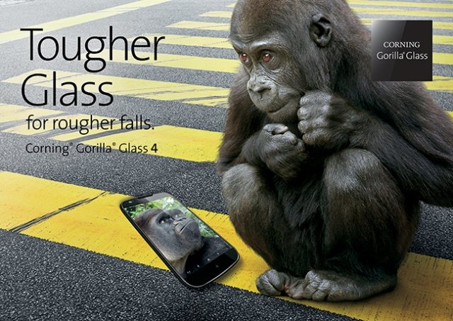 Παρουσιάστηκε η 4η γενιά του Gorilla Glass