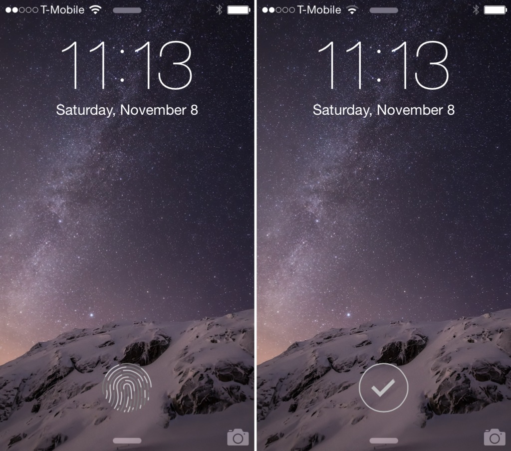 LockGlyph: Ξεκλειδώστε Touch ID συσκευές με το Apple Pay animation