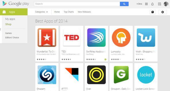 Best Apps 2014: Οι κορυφαίες εφαρμογές του Google Play όπως τις επέλεξε η Google