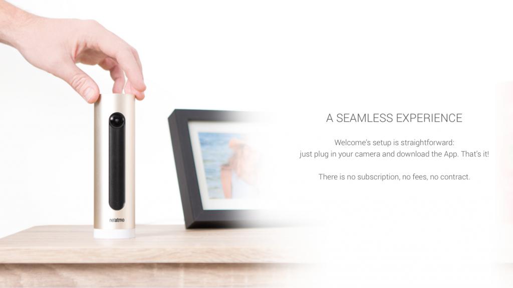 H Netatmo camera θα δείξει μέσω του Apple Watch ποιος είναι στο σπίτι σας