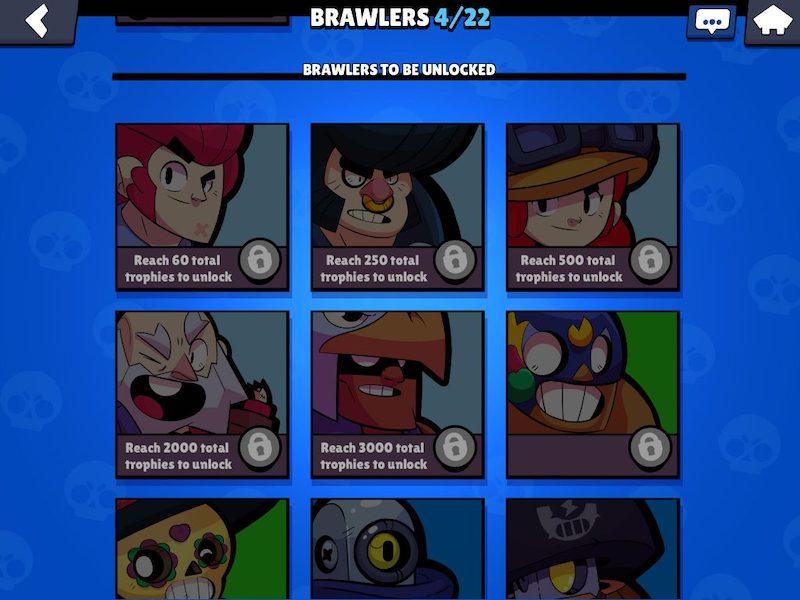 Brawl Stars brawlers